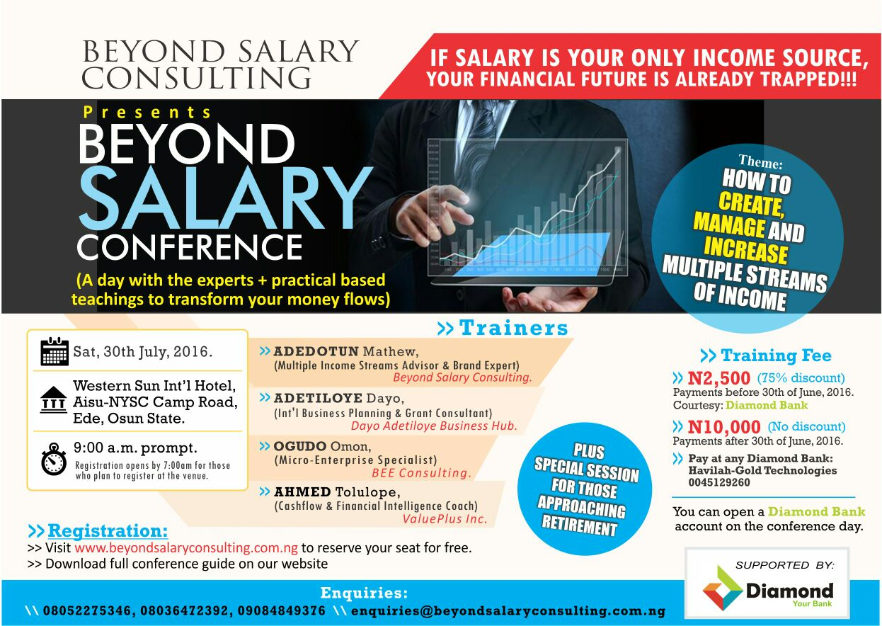 Beyond Salary Conference