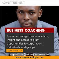 BUSINESS CONSULTING BUSINESS PLAN IN NIGERIA