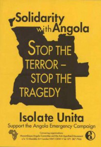London, United Kingdom 1993 Publisher: Mozambique Angola Committee