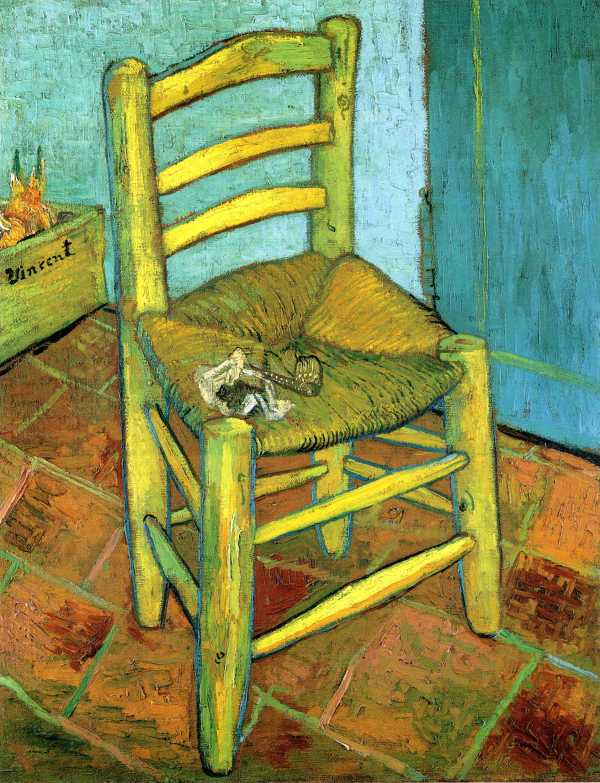 Vincent Van Gogh Chair Painting