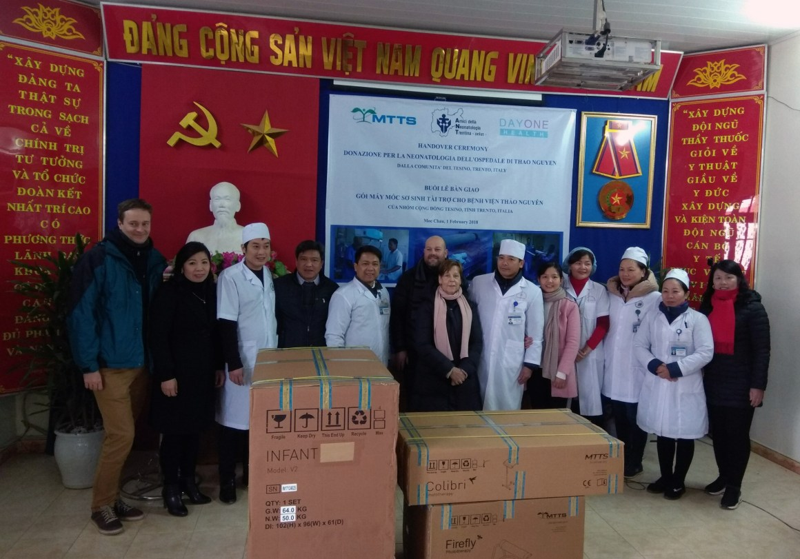 Donations to Rural Hospitals in North Vietnam