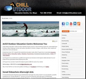 achill outdoor education centre