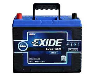 Exide Edge FP-AGM24DP Battery