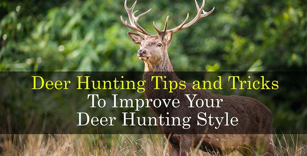 Deer Hunting Tips and Tricks