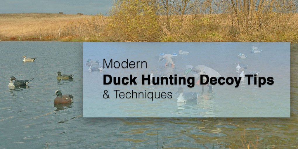 Duck Hunting Decoy Tips