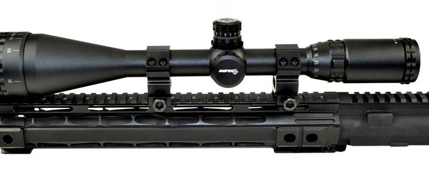 Sniper 6-24×50 AOE Illuminated Rifle Hunting Scope