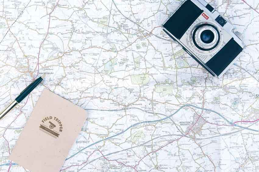 Marking and Traveling Road Planning