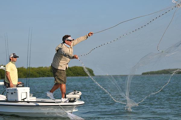 Saltwater Fishing for Cast Net Fishing