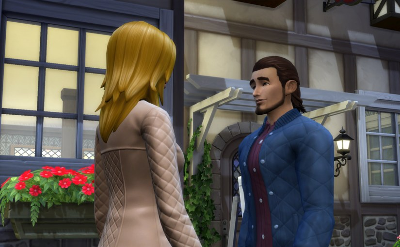 Babs L'Amour goes on a date with Paolo Rocca at The Shrieking Llama in Windenburg.