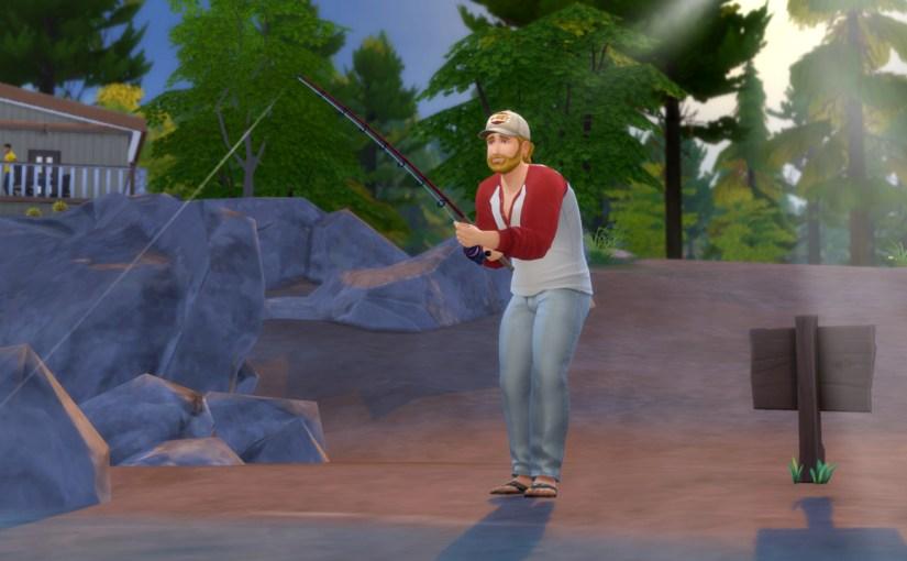 Steve Fogel learns how to fish in Granite Falls.