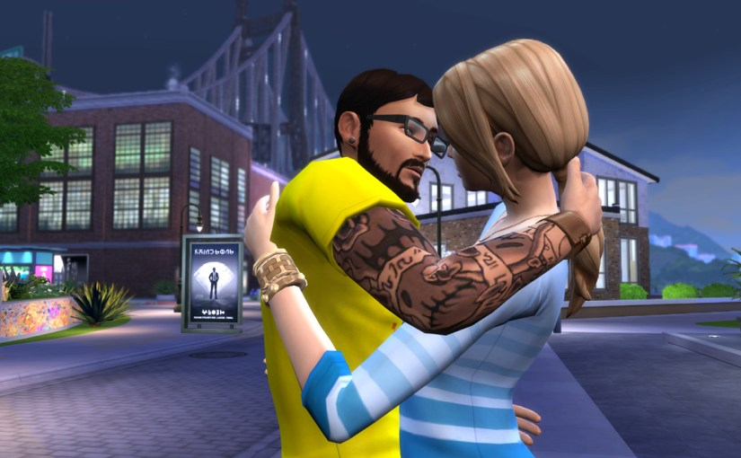 Andre DaSilva kisses Kazumi Minamoto after a date at The Waterside Warble.