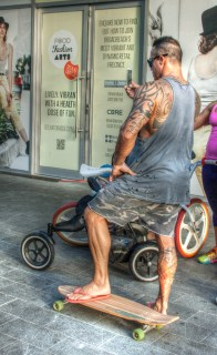 man tattoos BB