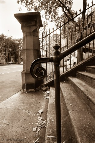 vintage sydney stairs