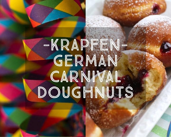 Krapfen German Carnival Doughnuts