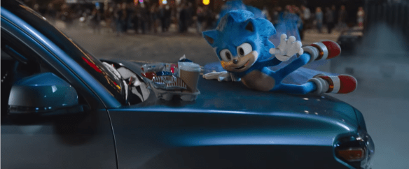 Sonic Car Slide - From Sonic The Hedgehog