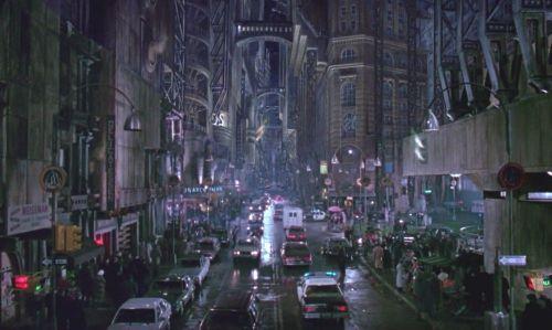 Anton Furst's look for Batman 1989