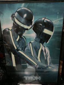 My Daft Punk Tron Legacy Poster