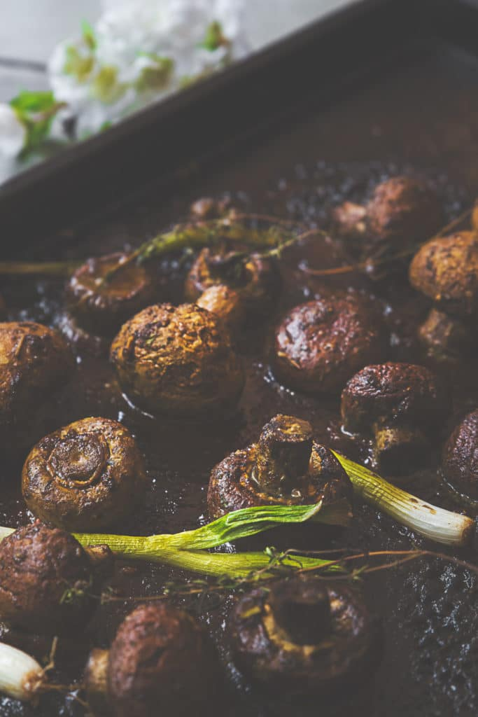 Jerk Spiced Mushrooms
