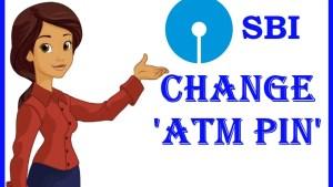 SBI ATM PIN CHANGE