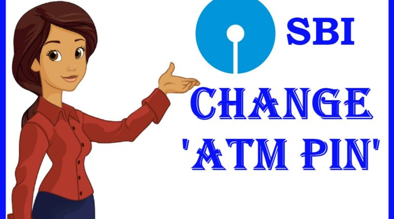 SBI ATM PIN CHANGE