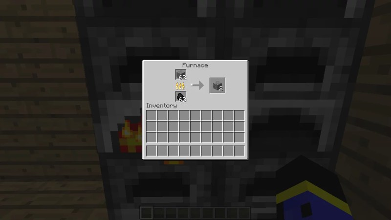 Use Furnace to Turn Cobblestone into Stone