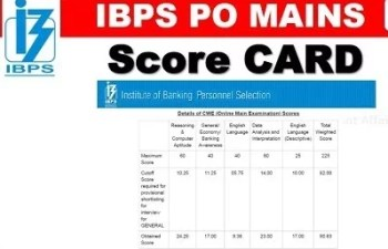 What Types Of Details Your IBPS Scorecard Hold?