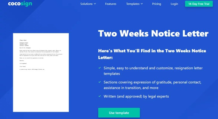 How to Write A Two Week's Notice Right Way?