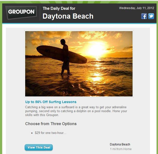 groupon surfing