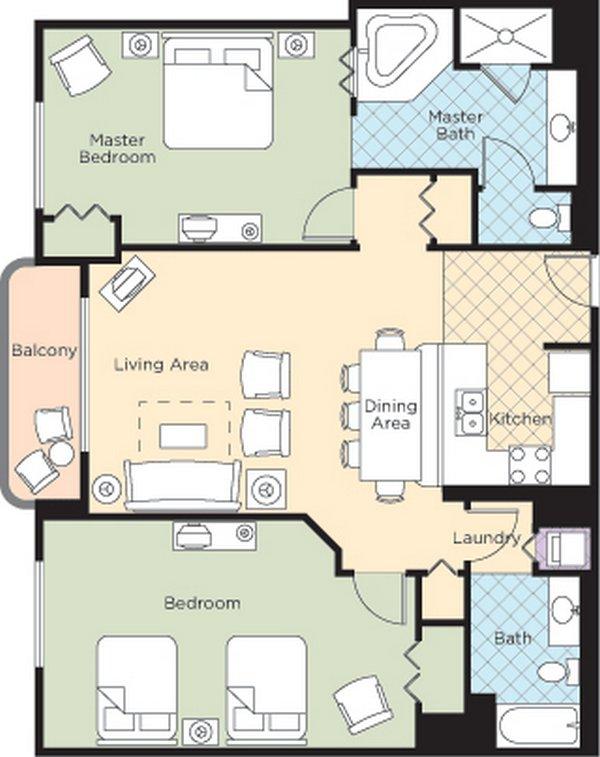 Ocean Walk Resort Floorplans Daytona Beach Blog
