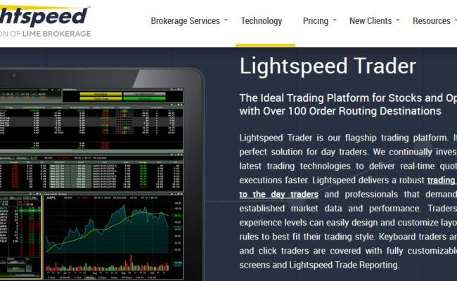 Lightspeed Trading Review 2019 Good But Not The Best