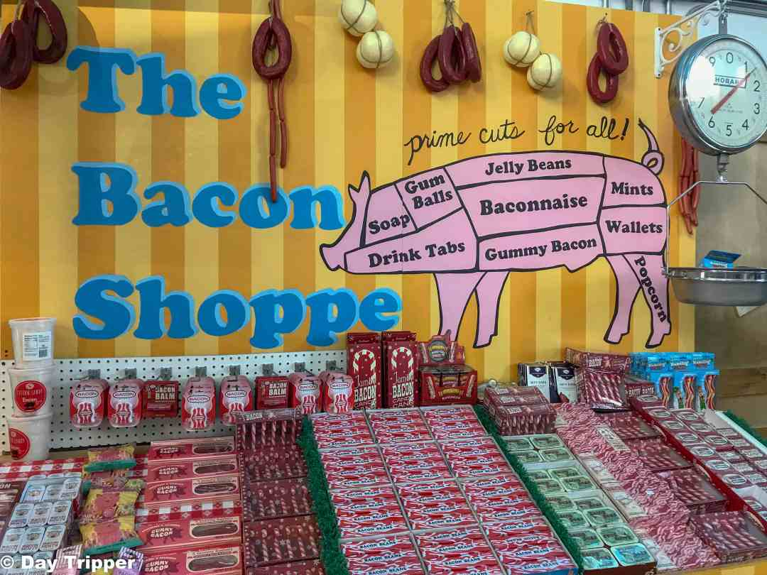 The only place to get your bacon flavored everything is Minnesota's Largest Candy Store