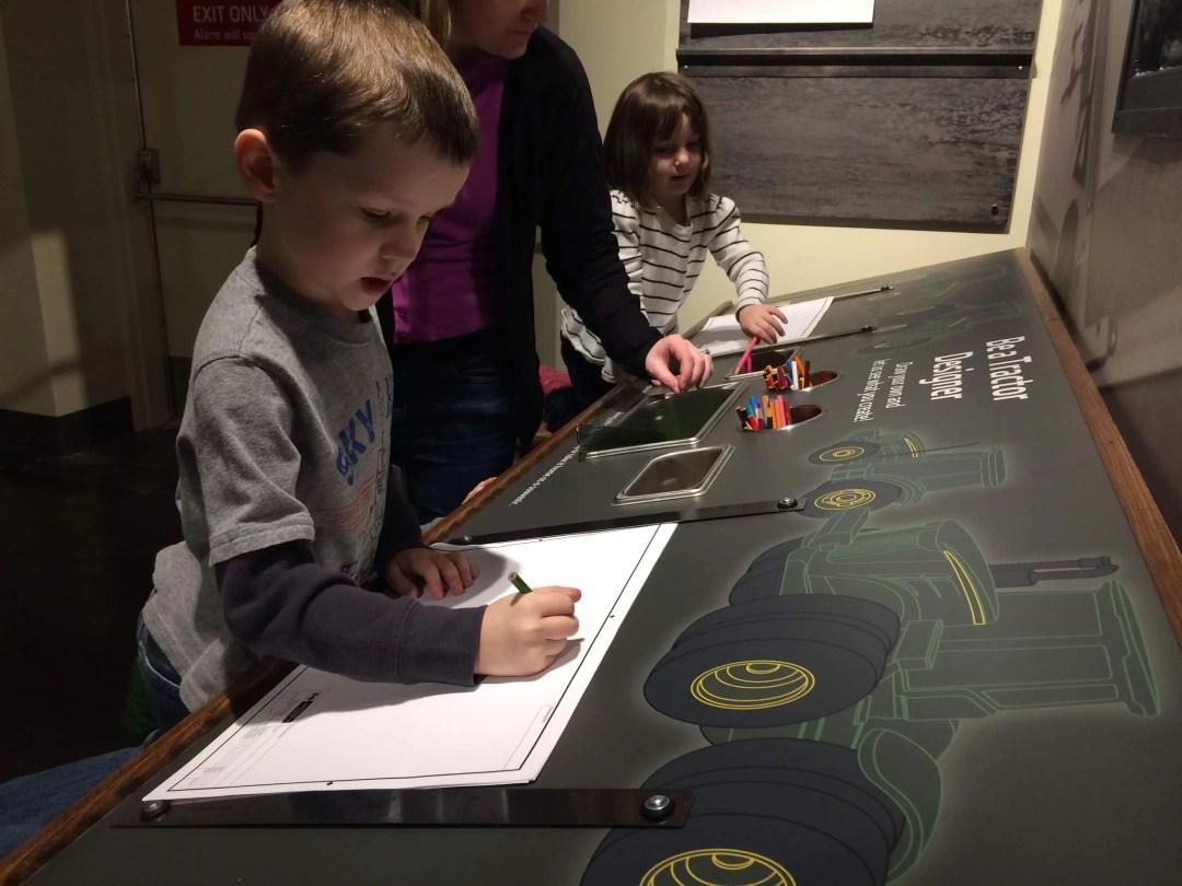 Design Lab at the John Deere Museum