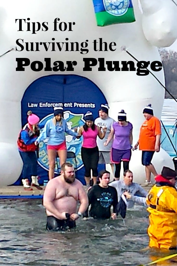 Are you planning on taking this dip this year? You'll want to make sure you read this before with these Polar Plunge Tips.