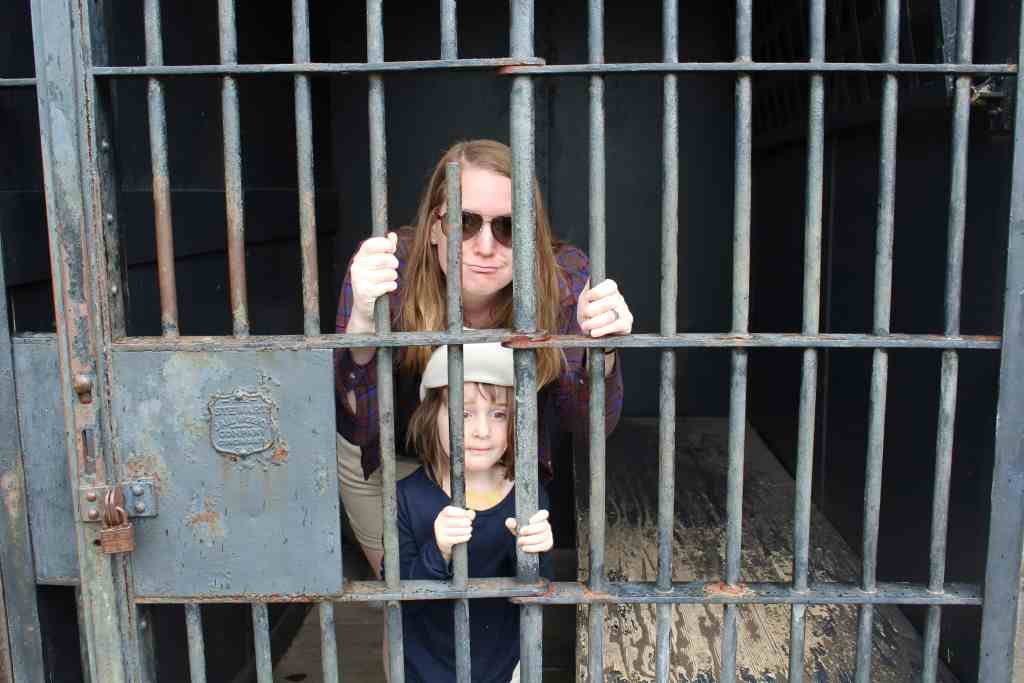 Stuck in Jail at Paul Bunyan Land