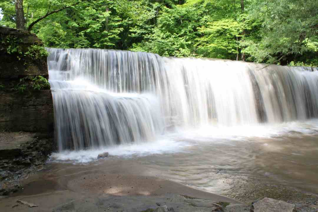 Big Woods State Park Waterfall