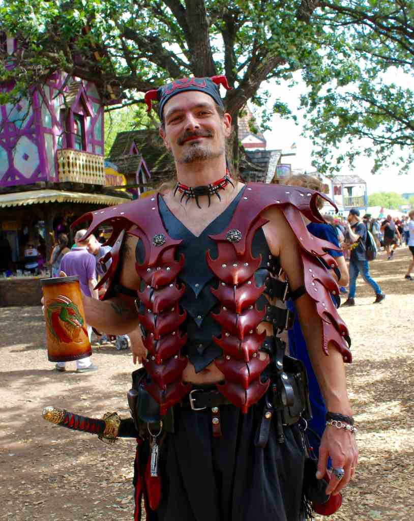 Leather Armor at the Minnesota Renaissance Festival