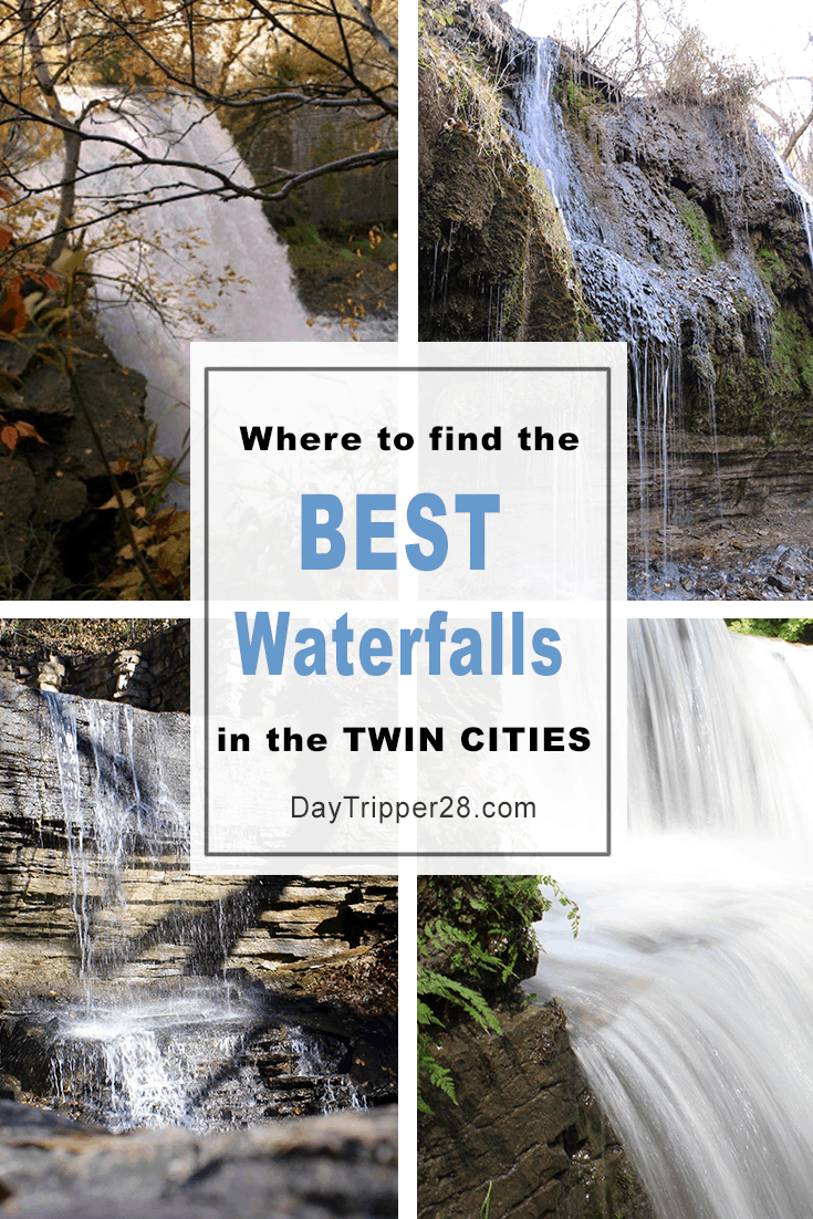 Minnesota has some of the best Waterfalls in the Country. But did you know there are 6 located in the Twin Cities? How many have you visited? #DayTrip | Waterfall | Minneapolis | Saint Paul | Family Adventure | Waterfalls in MN