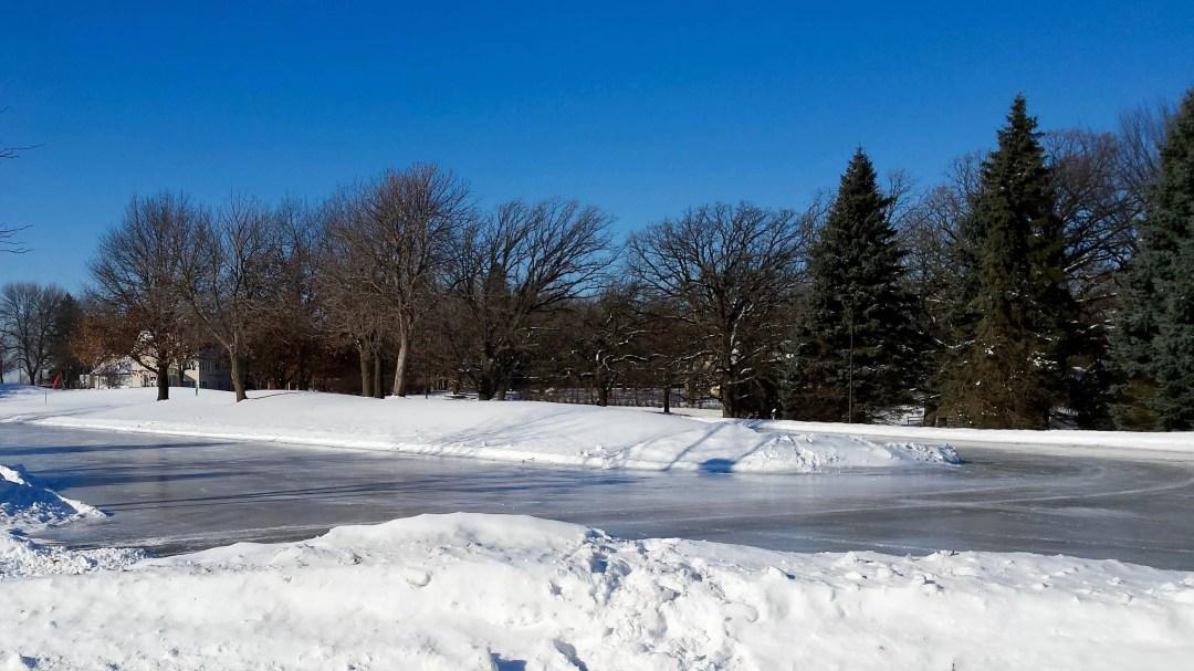 Ice Rink at Staring Lake Park
