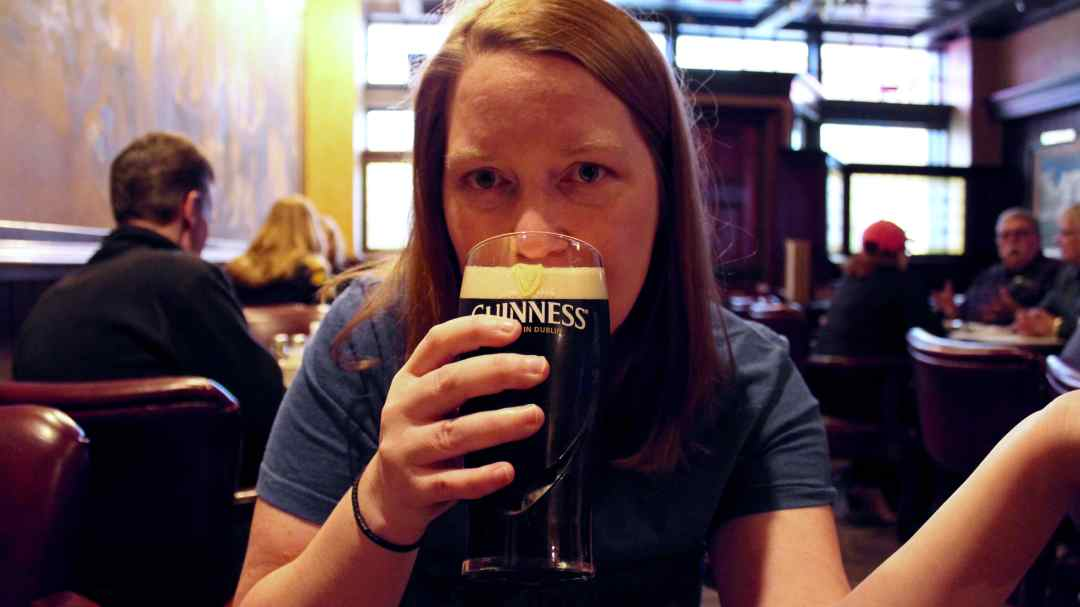 My First Taste of Guinness