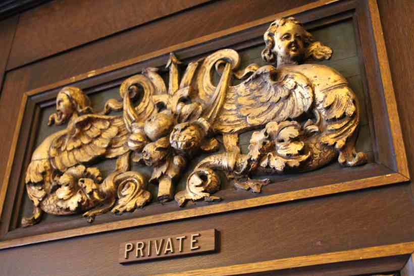 Private Entrance at the Governors Chambers MN Capitol