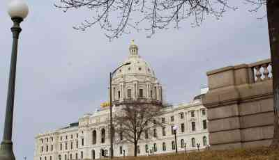 A peak at the renovations inside the MN State Capitol