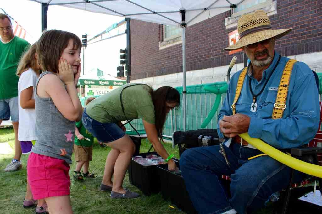 Balloons in the Kids Zone, Iowa's Irish Festival