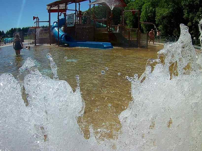Wild Mountain Waterpark Water Fountains