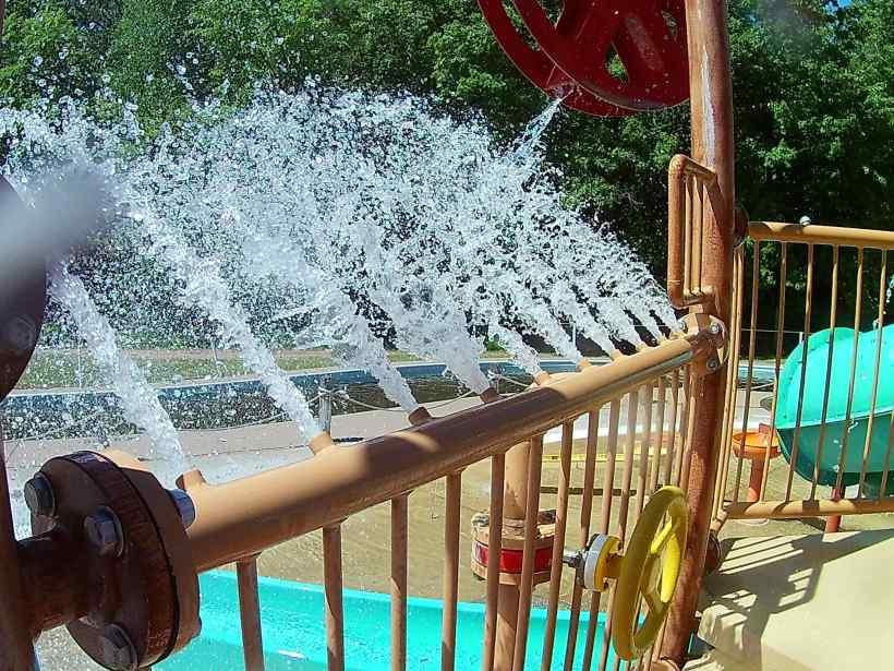 Wild Mountain Waterpark Fountains