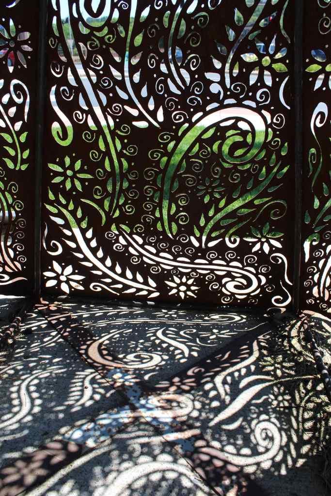 Mankato MN Sculpture Walk Shadow