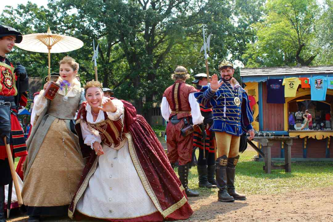 The Royal Court at the Minnesota Renaissance Festival