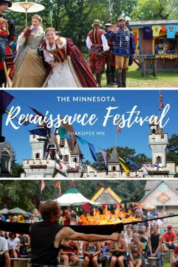The MN Renaissance Festival has great food, entertainment and Royals. What a great fall weekend in the Twin Cities!