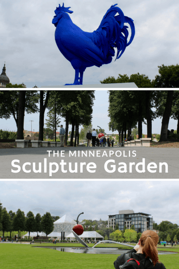 The newly remodeled sculpture garden is now open. Perfect free thing to do in the Twin Cities!