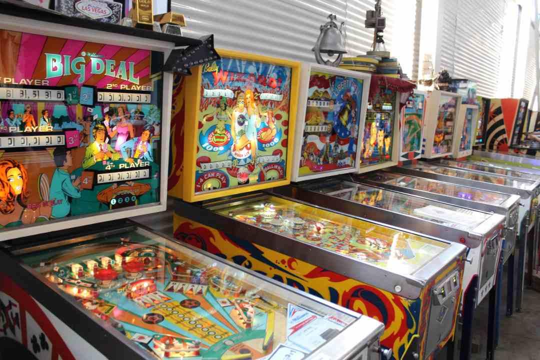 PInball Arcade at Can Can Wonderland