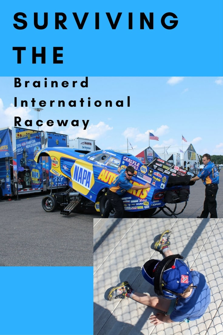 The Brainered International Raceway for a first timer. What to bring and how to save time.